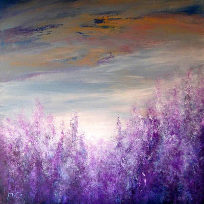 Painting - Lavender by K McCoy