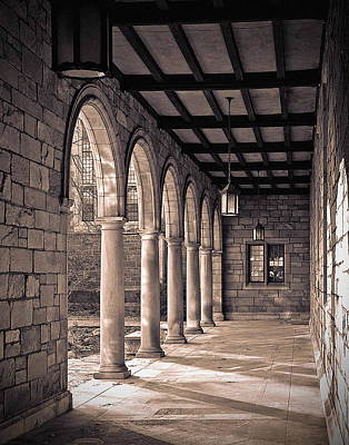 Law Quad Arches Print by James Howe