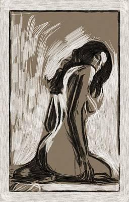 Curves Mixed Media - L.a.woman by Stefan Kuhn
