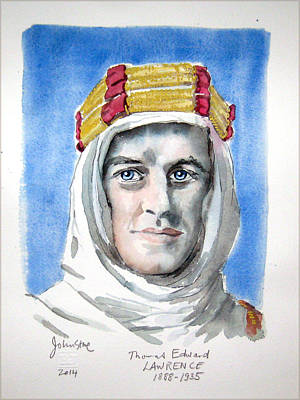 Lawrence Of Arabia Original by Ray Johnstone