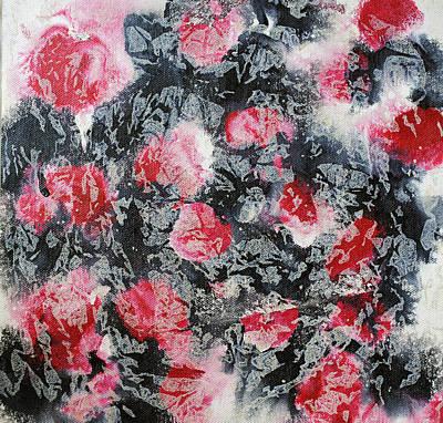 Scratch Painting - Layering 1 by Sumit Mehndiratta