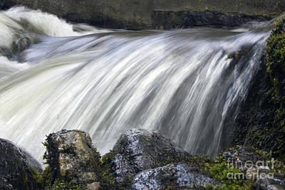 Lazerne Falls Cascade Print by Darleen Stry