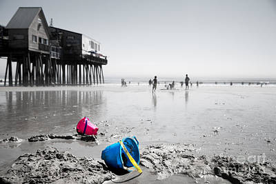 Lazy Days Of Summer Print by Jane Rix