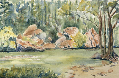 Lazy River Print by Mary Benke