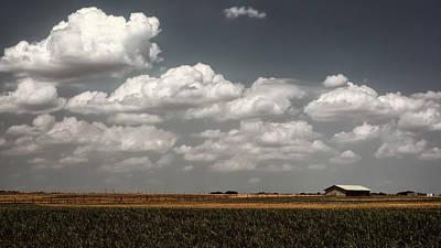 Lbj Ranch In Texas Print by Joan Carroll