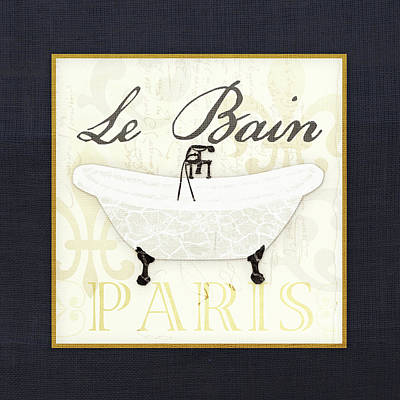 Bathroom Sinks Painting - Le Bain - Tub by Aubree Perrenoud