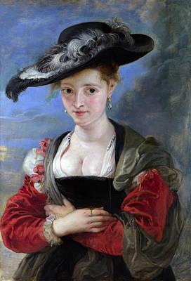 Peter Paul Rubens Digital Art - Le Chapeau De Paille by Peter Paul Rubens