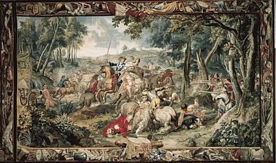 Tapestries Textiles Photograph - Le Clerc, J�r�me  17th C.. Ambush by Everett
