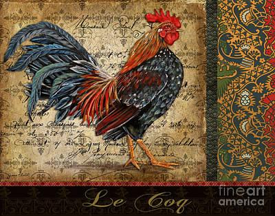 Le Coq-b Print by Jean Plout