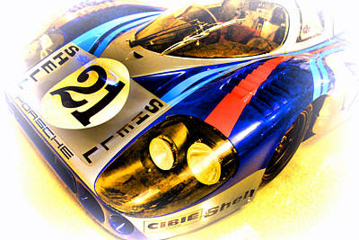 Le Mans 1971 Porsche 917 Lh Print by Olivier Le Queinec