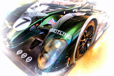 Circuit Photograph - Le Mans 2003 Bentley Speed 8 by Olivier Le Queinec