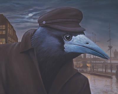 Metaphysical Painting - Le Provocateur by Paul Bond