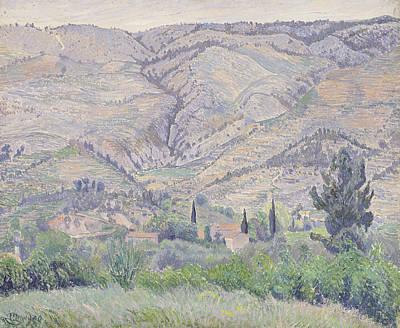 Le Ragas, Near Toulon, 1930 Print by Camille Pissarro