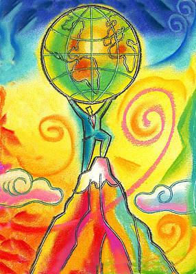 Prosperity Painting - Leader by Leon Zernitsky