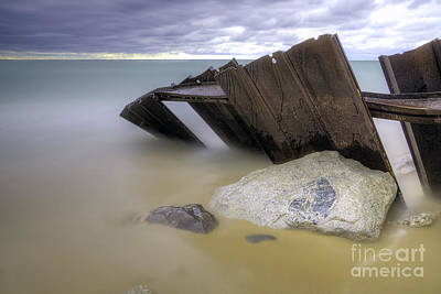 Northern Michigan Photograph - Leaning Walls  by Twenty Two North Photography