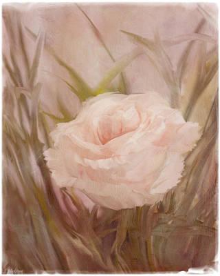 Jordan Painting - Learn To Love - Vintage Art by Jordan Blackstone