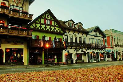 Leavenworth Autumn Print by Benjamin Yeager