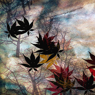 Orsillo Mixed Media - Leaves by Bob Orsillo