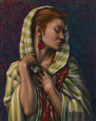 Painting - Leaving Jericho by Jane Bucci