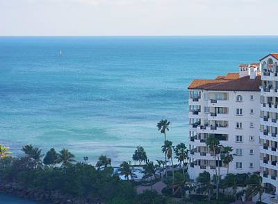 Leaving Miami Original by Warren Thompson