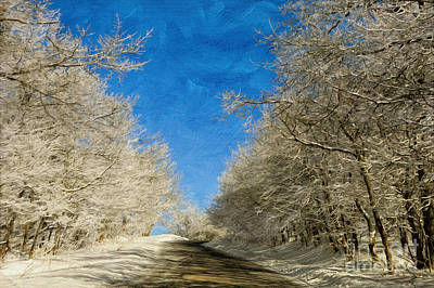 Leaving Winter Behind Print by Lois Bryan