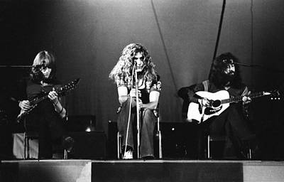 Led Zeppelin Photograph - Led Zeppelin 1971 by Chris Walter