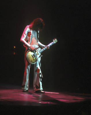 Jimmy Page Photograph - Led Zeppelin 3 by Joe  Gliozzo
