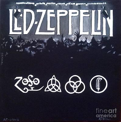 Led Zeppelin Original by Richard John Holden RA