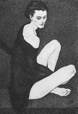 Leda 1 Print by Leonid Petrushin