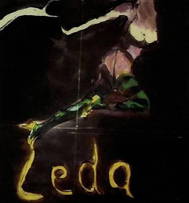 Leda Original by Harry WEISBURD