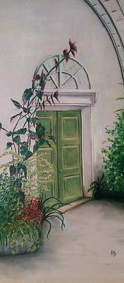 Czech Republic Painting - Lednice by Anne Ingelbach