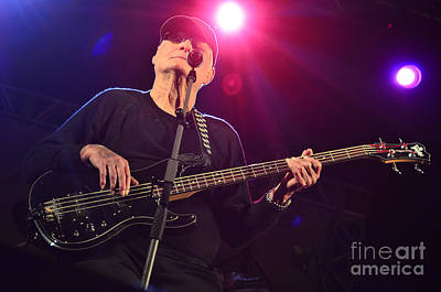 Psychedelic Rock Photograph - Lee Dorman - Classic Rock Bassist by Carlos Alkmin