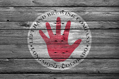 Handcrafted Photograph - Left Hand Brewery by Joe Hamilton