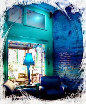 Buy Online Photograph - Leg Lamp by Barbara Chichester