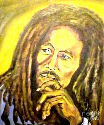 Legend Bob Marley Print by Collin A Clarke