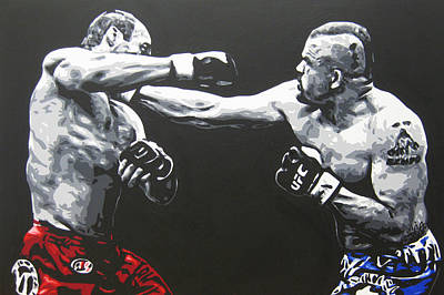 Ufc Painting - Legends by Geo Thomson