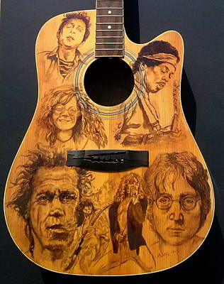 Rollingstone Painting - Legends by Kathleen Kelly Thompson