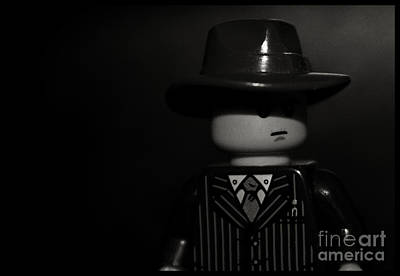 Lego Film Noir II Print by Cinema Photography