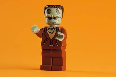 Monster Photograph - Lego Frankenstein by Samuel Whitton