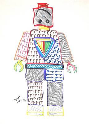 Lego Man Original by Troy Thomas