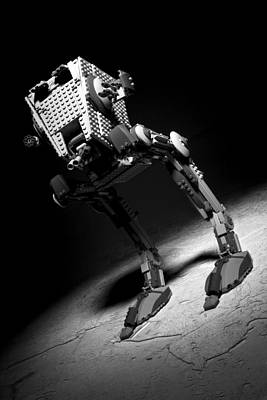 Photograph - Lego Star Wars At-st by Samuel Whitton