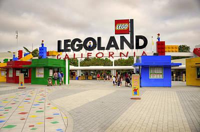 Legoland California Print by Ricky Barnard