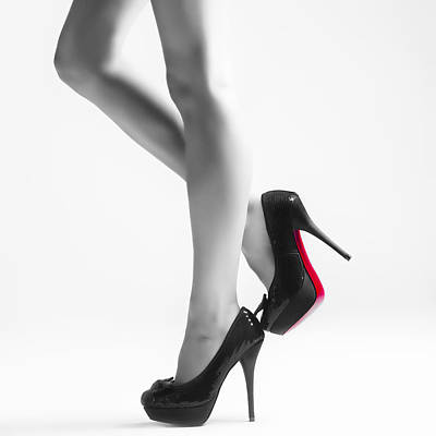 Express Photograph - Legs by Erik Brede