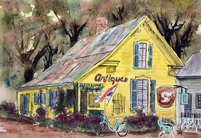Leiper Painting - Leipers Fork Finds by Tim Ross