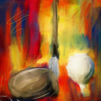 Golf Digital Art - Leisure Play by Lourry Legarde