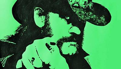 Ace Of Spades Drawing - Lemmy by Paula Sharlea