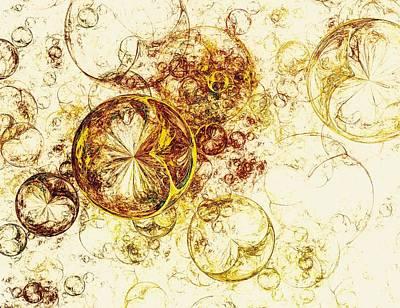 Decoration Mixed Media - Lemon Bubbles by Anastasiya Malakhova