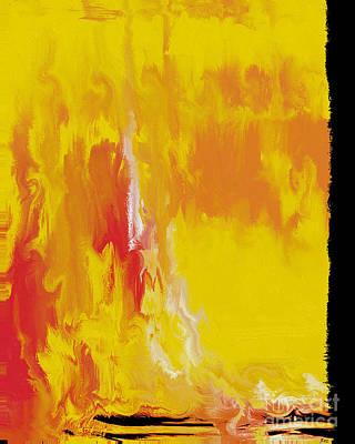 Pearl Jam Mixed Media - Lemon Yellow Sun by Roz Abellera Art