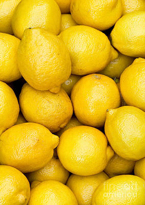 Lemons 02 Print by Rick Piper Photography