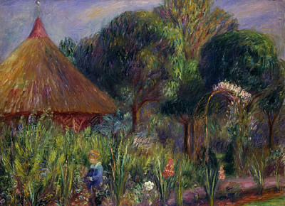 Lenna By A Summer House Print by William James Glackens